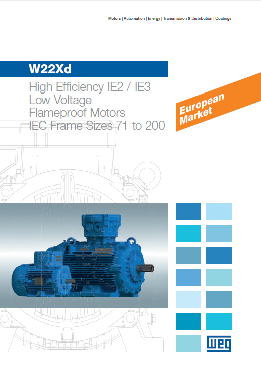 W22Xd - Flameproof Motors (Low Voltage)