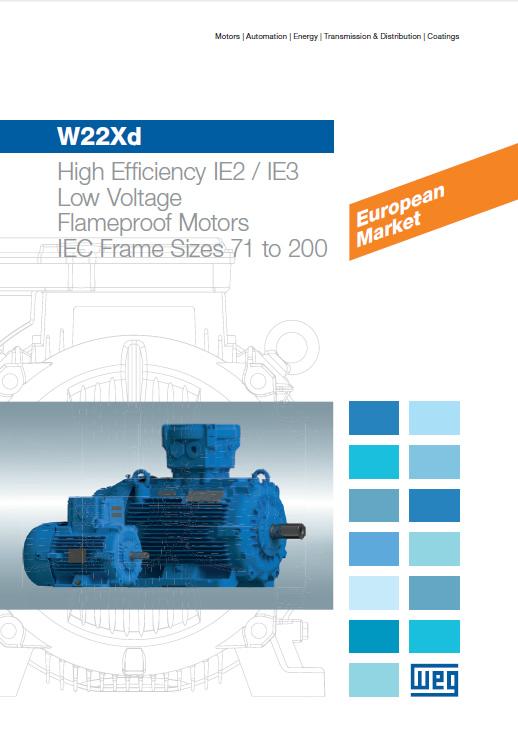 W22Xd - Flameproof Motors (Low Voltage)