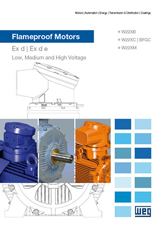 WEG-three-phase-flameproof-motors-w22x-and-bfgc4-series-technical-european-market-125.71-brochure-english-DWL-CAT