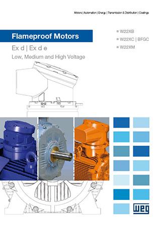 WEG-three-phase-flameproof-motors-w22x-and-bfgc4-series-technical-european-market-125.71-brochure-english-DWL-CAT