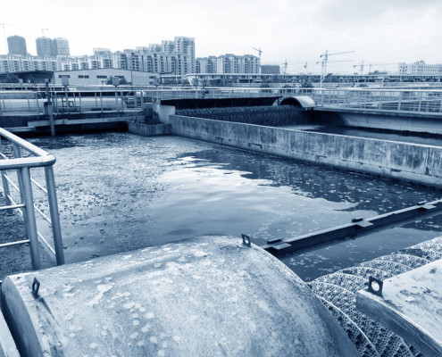 Industrial Fans and Electric Motors for Water Treatment