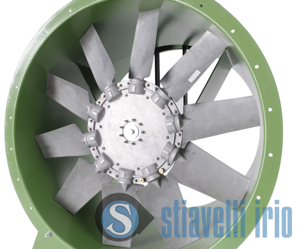 YEVC Industrial Vane Axial Fans Belt Drive Stiavelli Irio srl #3F6B8C