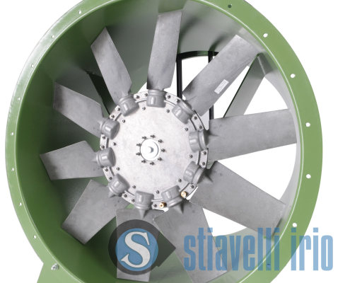 Vane axial fan impeller