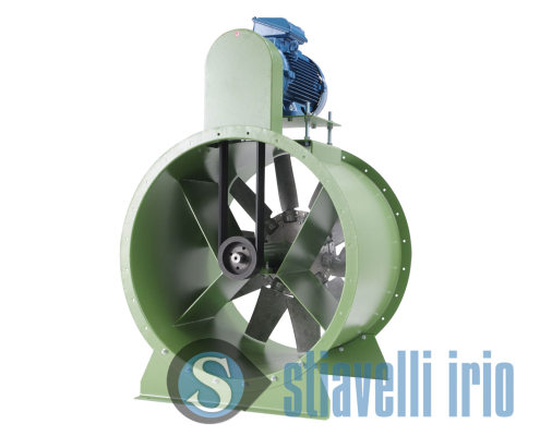 Vane industrial axial fan