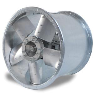 Ventilatore Assiale girante con pale a profilo alare