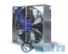 low pressure belt drive trasmission em industrial fan