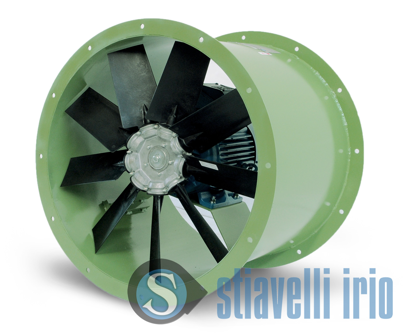 Yevl Industrial Axial Duct Blowers Stiavelli Irio Srl