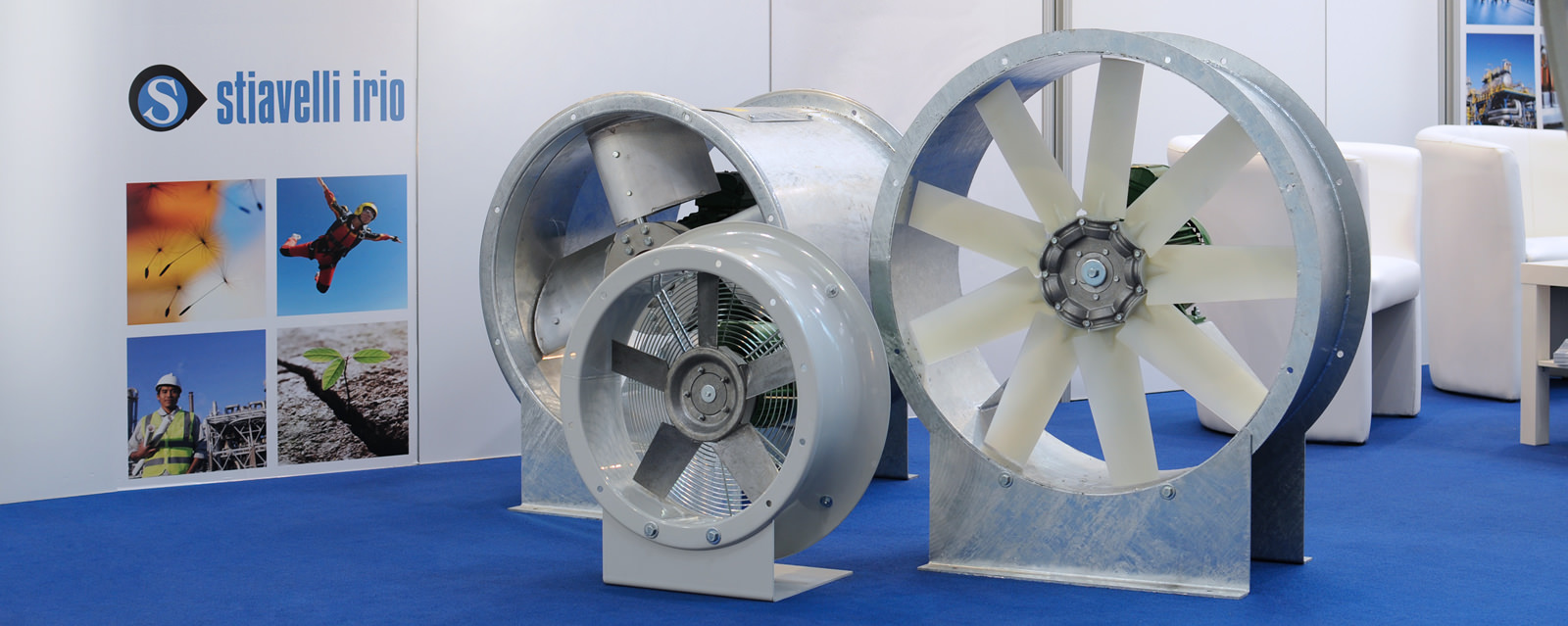 Ducted Fans at Hannover Messe 2013