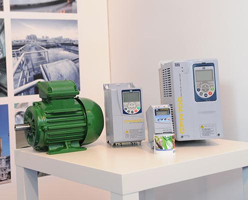 Electric Motors fed by WEG Inverter