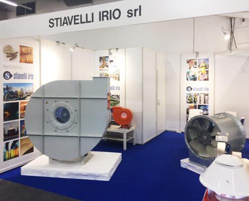 Stiavelli-Irio-Ventilatori-Stand-Achema-Frankfurt