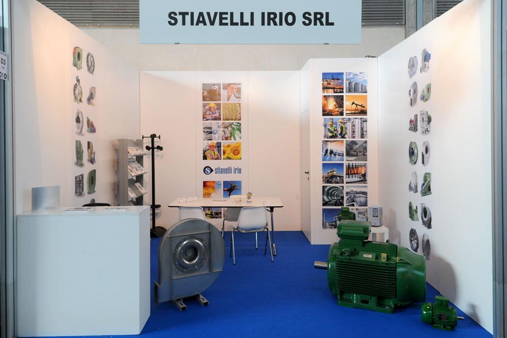 Stiavelli Irio at Ecomondo Fair 2014 - Rimini - Italy