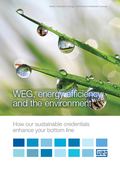WEG Energy Efficiency and Environment