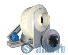 Centrifugal fans for Chemical Industry - Fertilizers