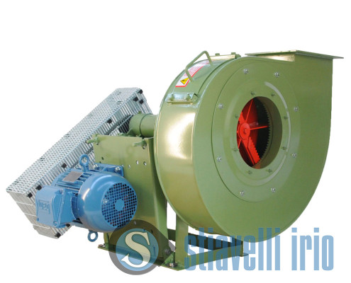 Centrifugal fans for Pulp and Paper - Paper Shredder