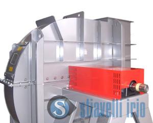 Centrifugal industrial fan Environmental application Air Treatment
