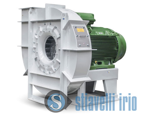 Centrifugal industrial fans for Food Industry - Mill Plant