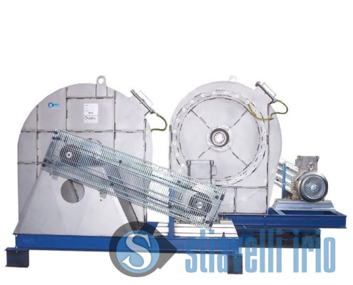 Industrial fan for Textile Industry Tissue Treatment