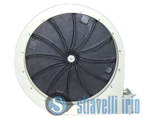 Centrifugal fan for Oil Production Ebonized Impeller PP