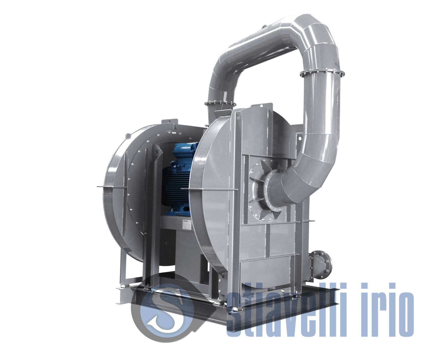 High Pressure Centrifugal Blowers : High pressure double stage fans yhpr d stiavelli irio srl