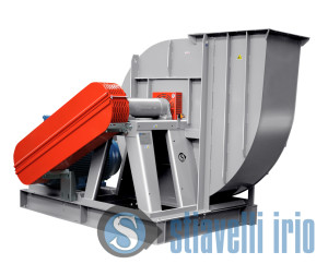 Industrial Fan for the treatment of Sulphuric Acid vapour