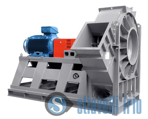 Industrial Fan for Dedusting Plant