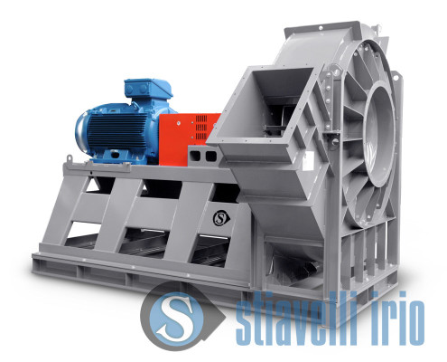 Explosion proof marine duty centrifugal radial fans