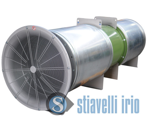 Axial Ducted Silencied Fan