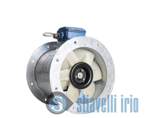Axial fan for electrical panel cooling - Marine Industry