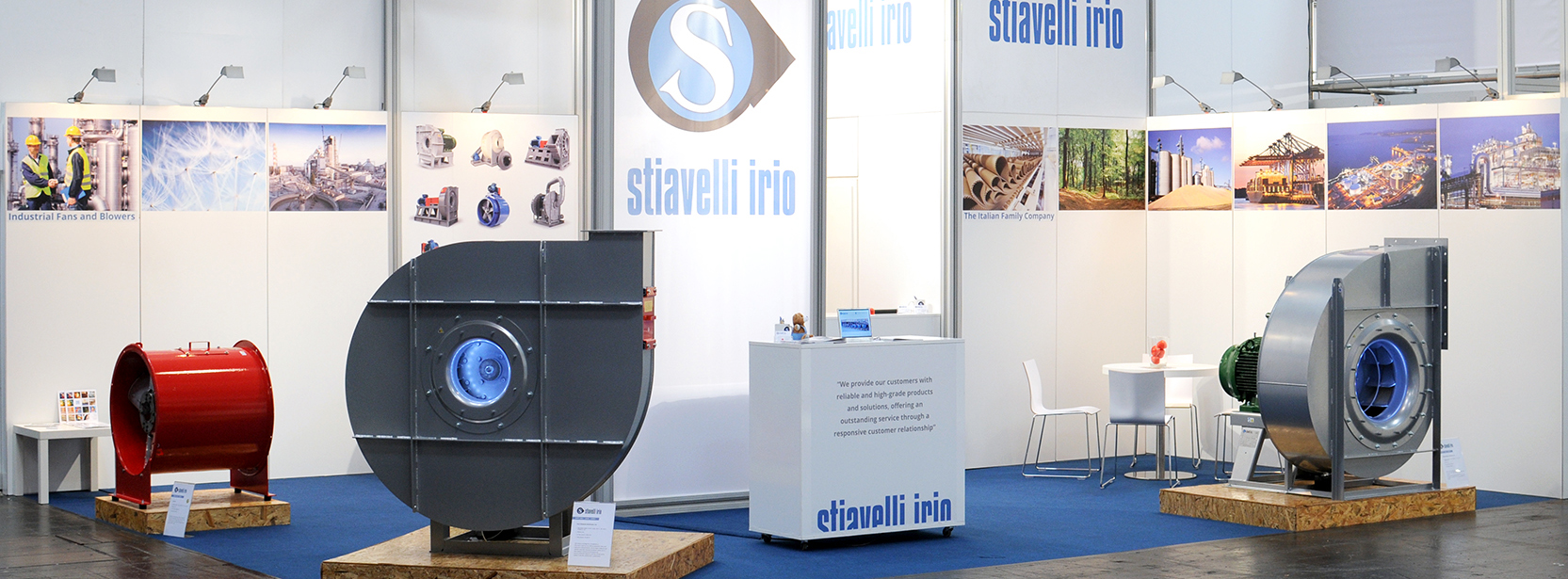 Stiavelli Irio at Hannover Messe 2017 Header