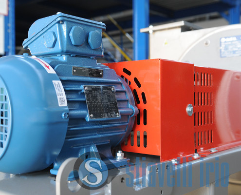 Industrial Centrifugal Fan for Suction of Vapors