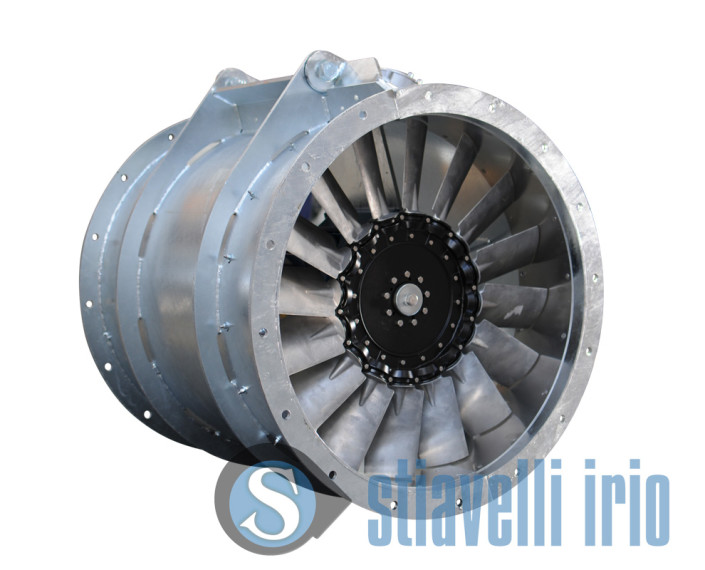 Swing out Axial Fan for Marine Applications