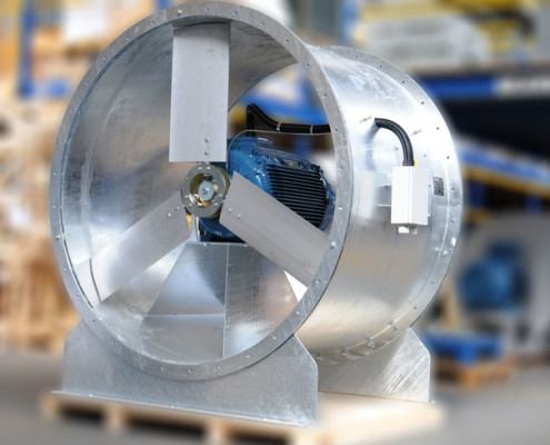 Galvanised-Fan-for-Paper-Industry