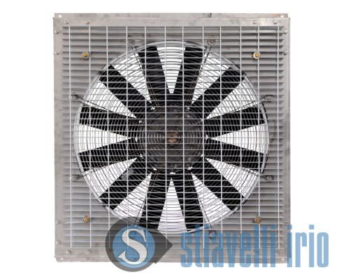Ventilatore a griglia per estrazione aria calda