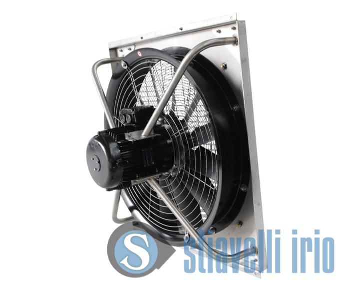 Ventilatore calpestabile per estrazione aria calda
