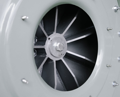 Medium Pressure Radial Open Blades Impeller